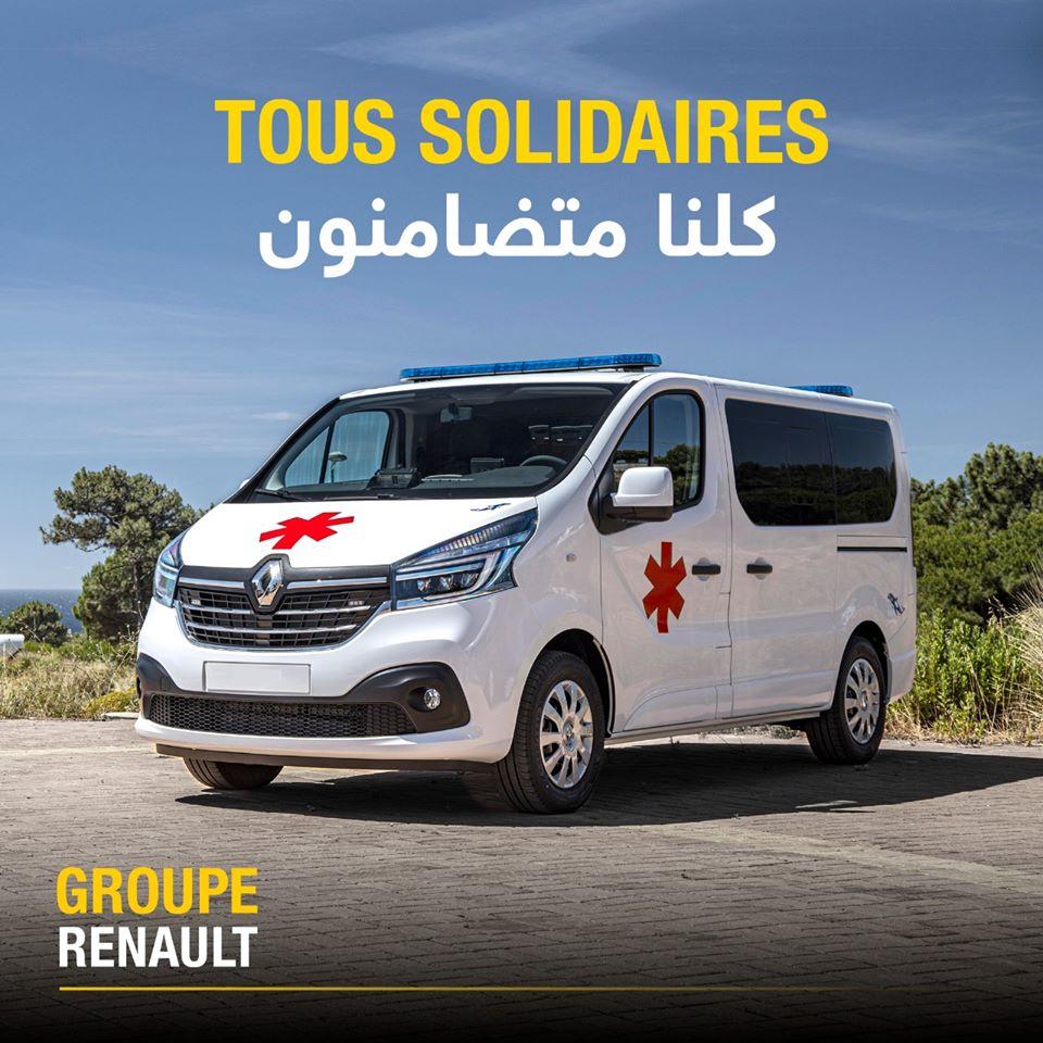 Renault Maroc Fait Un Don De 50 Ambulances